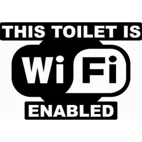 Tuvalet Banyo Sticker 78995