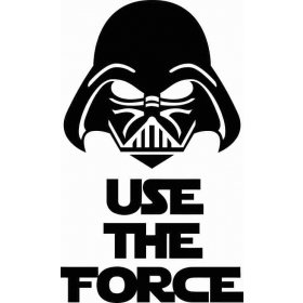 Use The Force Banyo Sticker 78994