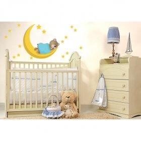 Uyusunda Büyüsün Şirin Ayıcık Duvar Sticker