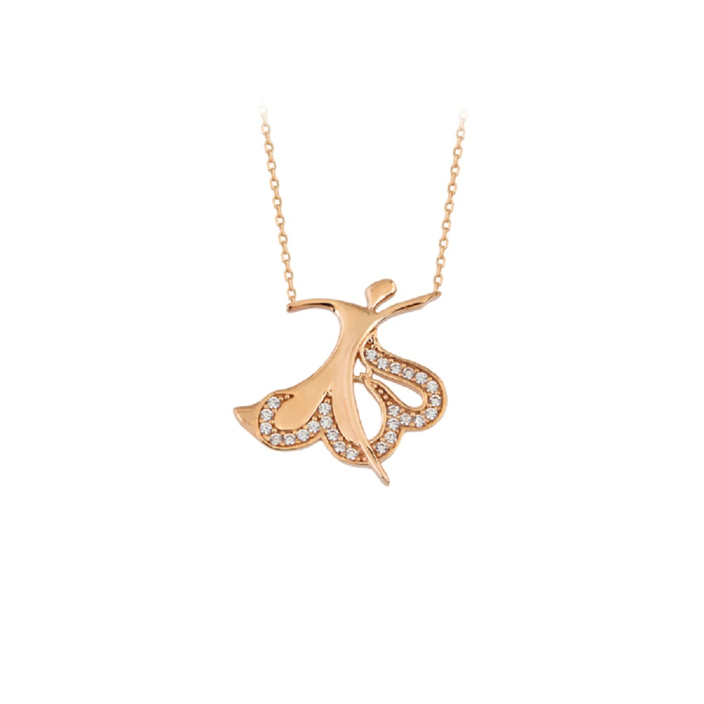 Women's Gemmed 14k Gold Necklace